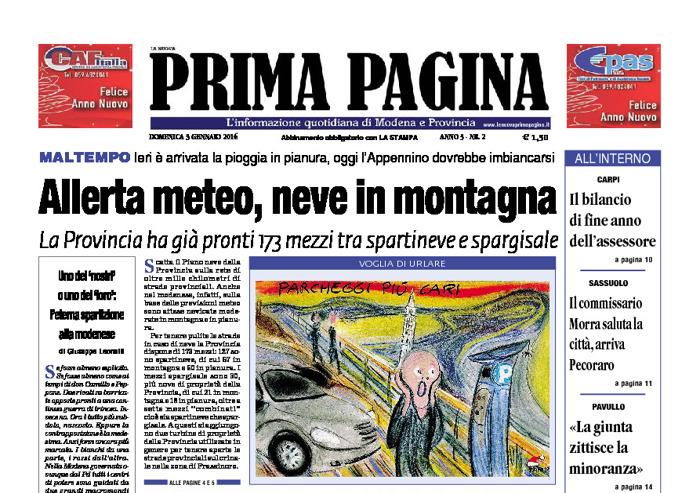 Prima Pagina - Domenica 3 Gennaio 2016