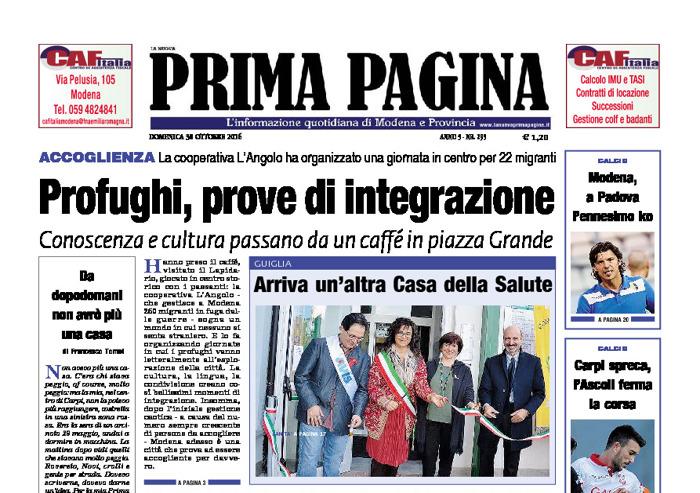Prima Pagina - Domenica 30 Ottobre 2016
