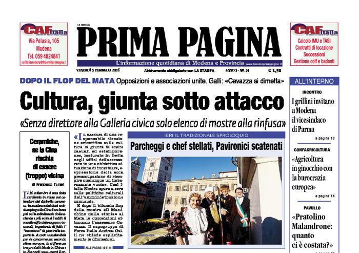 Prima Pagina - Venerdì 5 Febbraio 2016