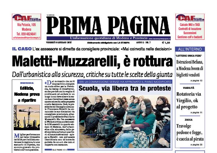 Prima Pagina - Venerdì 8 Gennaio 2016