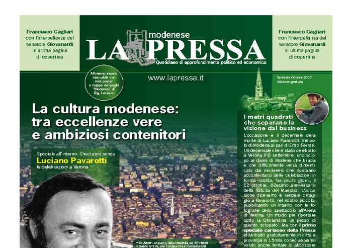 La Pressa - speciale cartaceo: la cultura a Modena