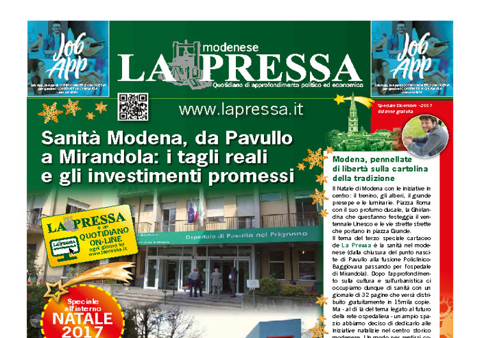 La Pressa - speciale cartaceo: la sanità a Modena