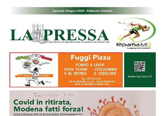 La Pressa - speciale cartaceo: la ripresa a Modena dopo il coronavirus