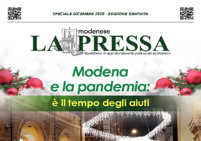 La Pressa - Speciale cartaceo: Modena e la pandemia, è il tempo degli aiuti