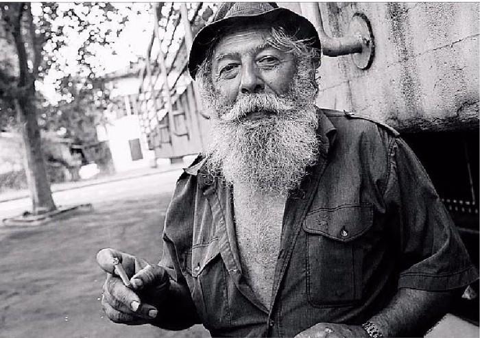La barba bianca di 'Claus'