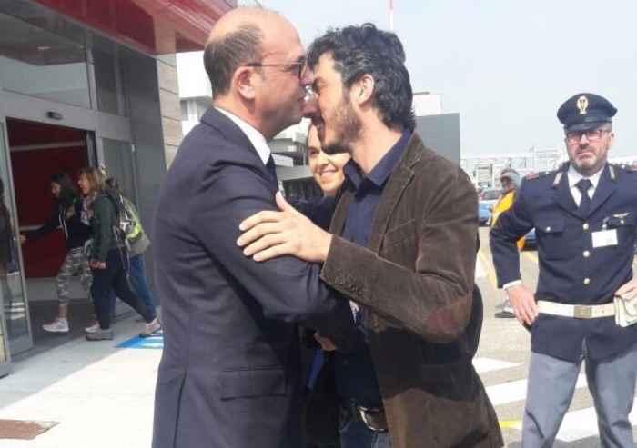 Gabriele Del Grande è libero: atterrato a Bologna