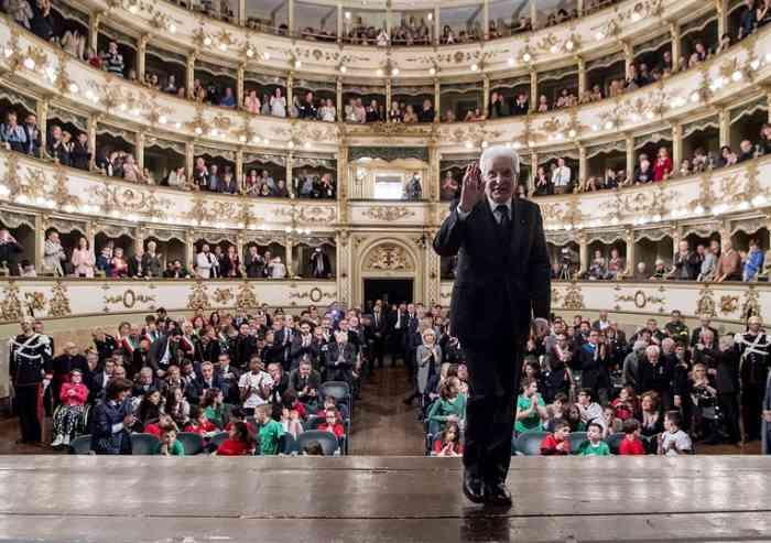Mattarella a Carpi, il discorso del Capo dello Stato