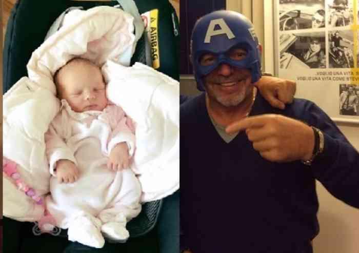 Vasco Rossi è nonno per la seconda volta