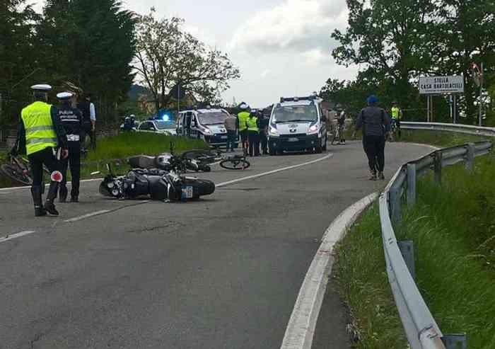 Tragedia oggi a Serramazzoni, muore un motociclista