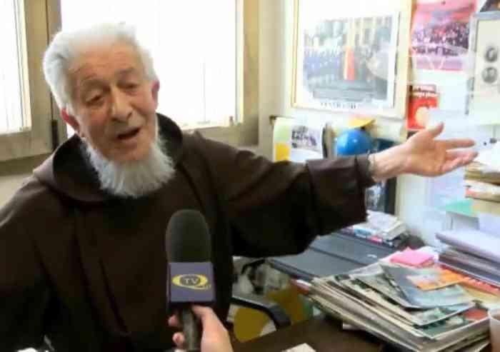 Padre Sebastiano, 90 anni, cittadino onorario di Sassuolo