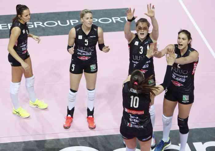 Puntuación estera sal  Volley femminile finale scudetto: Novara vince gara 3 e ipoteca il trionfo  - Sport - LaPressa.it