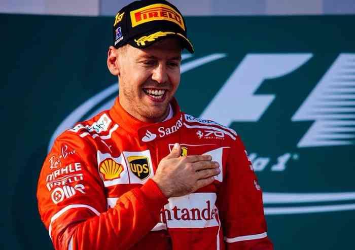 In Spagna c'è Vettel, secondo ancora in testa al mondiale