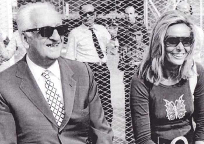All'asta le lettere d'amore di Enzo Ferrari per la giovane e bellissima Fiamma Breschi.
