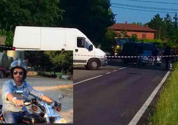 Schianto in moto, morto Fabio Tavernari di 39 anni