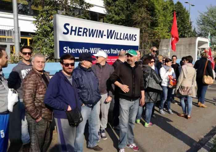 Sherwin Williams, nulla di fatto nel vertice di ieri