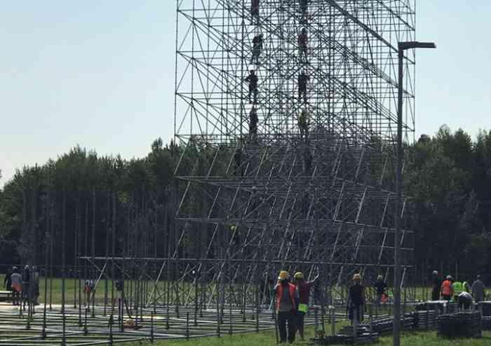 Vasco Rossi in Puglia fa le prove del mega concerto di Modena