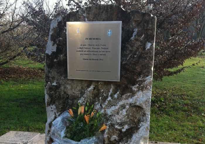 Carpi, il sindaco Bellelli: stupidi vandali contro un monumento pubblico caro alla comunità
