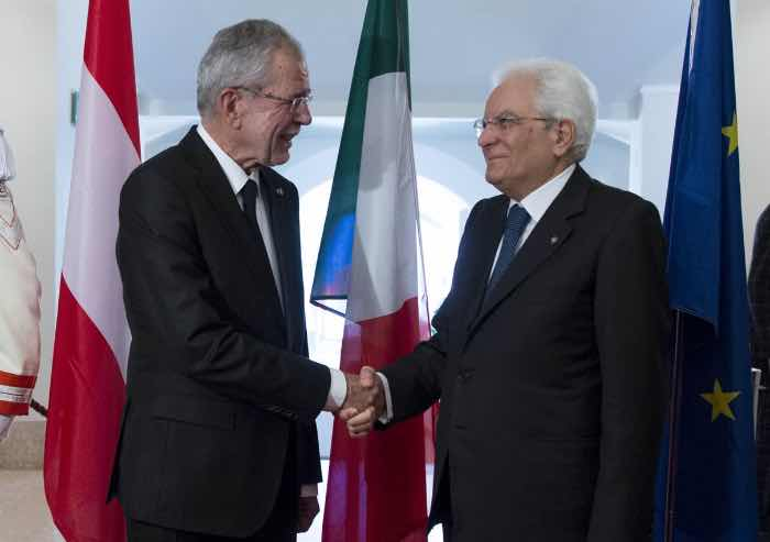 Italia-Austria, Mattarella: Brennero emblema della libera circolazione in Europa