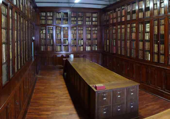 Governo: addio alla sala di lettura alla Biblioteca Estense