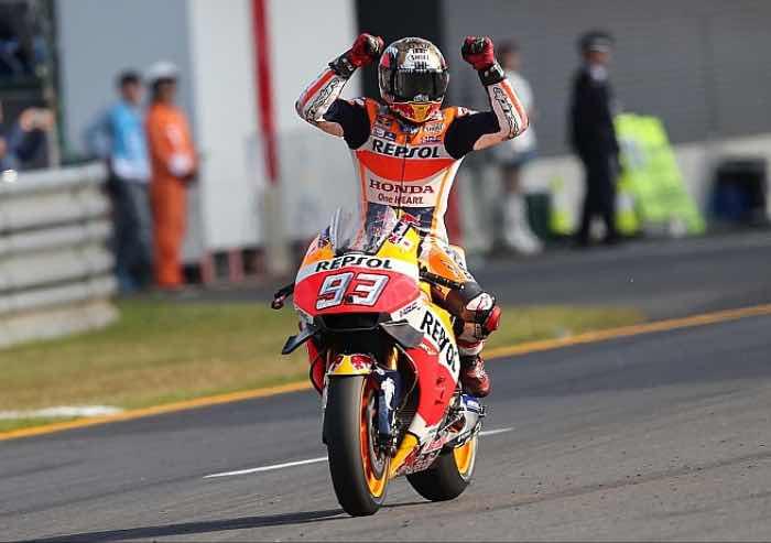 MotoGp: Marquez re di Germania. Valentino Rossi quinto
