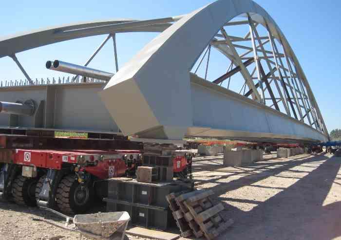 Bomporto, ecco il nuovo ponte firmato Aec costruzioni