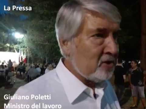 Poletti a Bosco Albergati: 'Sull'occupazione giovanile puntiamo tutto'