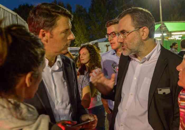 'Ho visto Renzi, ho visto una persona...' Eppur c'è chi pensava fosse un alieno...