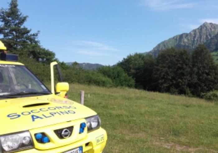 Fanano, escursionista disidratata e sfinita dal caldo soccorsa dal corpo Nazionale Alpino