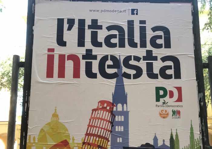 'L'Italiaintesta' lo slogan della Festa dell'Unità a Modena, 4 parole chiave: bellezza, uguaglianza, opportunità e sicurezza