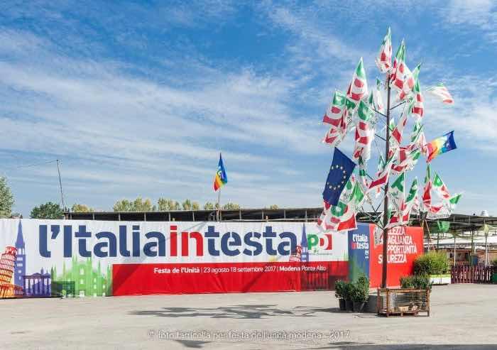 Mezzetti, dispiaciuto per il mancato invito ad Mdp alla Festa de l'Unità di Modena e Bologna