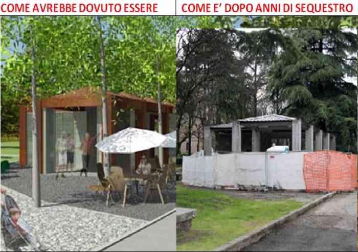 'Chioschi al parco, dopo il dissequestro un progetto per Modena'