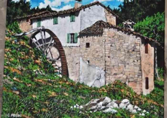 Lorenzo Mesini, memorie dei luoghi