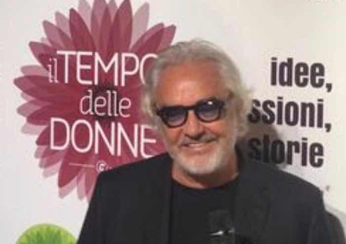 L'ultima provocazione di Flavio Briatore: 'Giusto che la donna lavori altrimenti rompe i maroni'