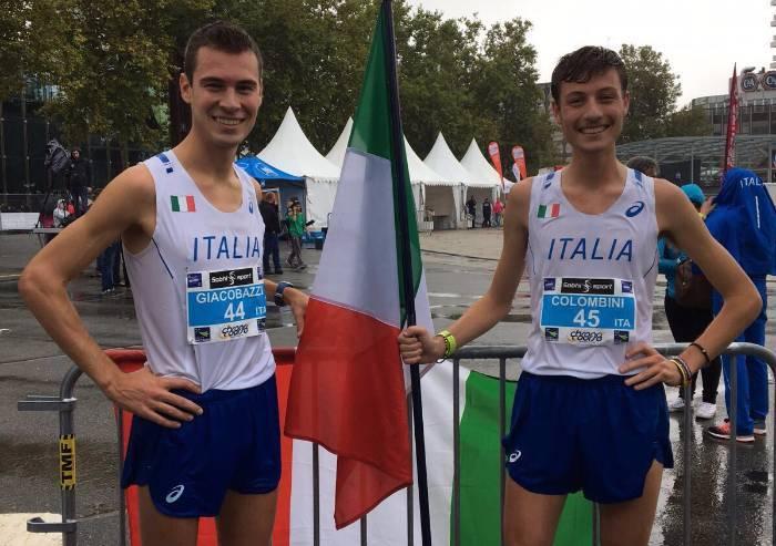 A Rennes Giacobazzi vince la 10 km internazionale, quarto Colombini