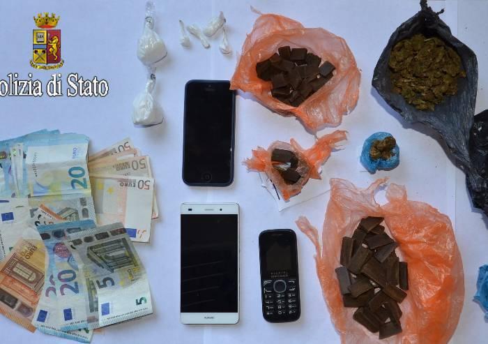 Ladri, clandestini e spacciatori, due marocchini e un tunisino nei guai