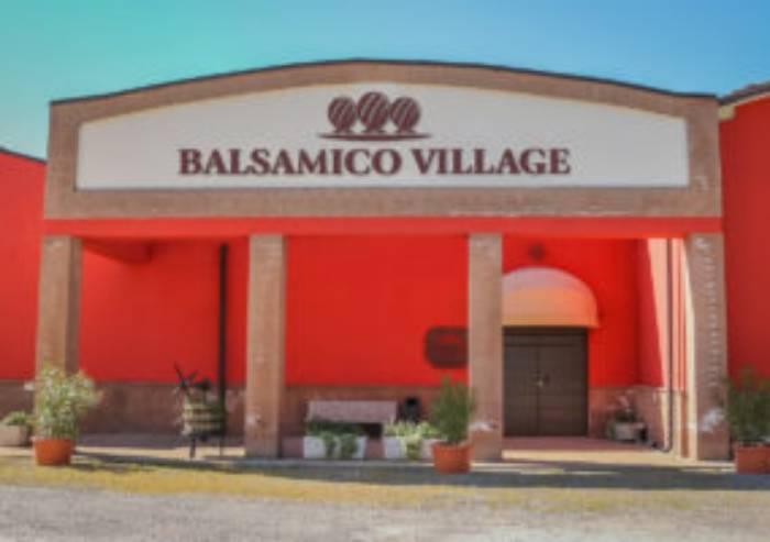 Vandali al Balsamico Village di Carpi