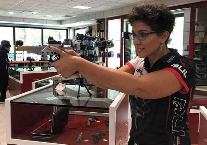 E' Barbara Franchini è la prima tiratrice italiana ad entrare nel Team Bul