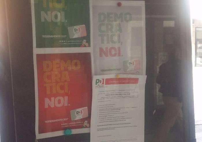 'Il Pd di Castelfranco Emilia usa spazi pubblici per far proseliti'