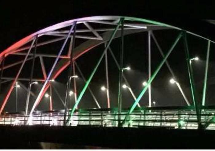 Inaugurazione ponte Bomporto e caso Aec: la ciclabile e la moglie...