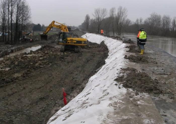 Secchia, così Aipo certifica il rischio di altre alluvioni per Modena