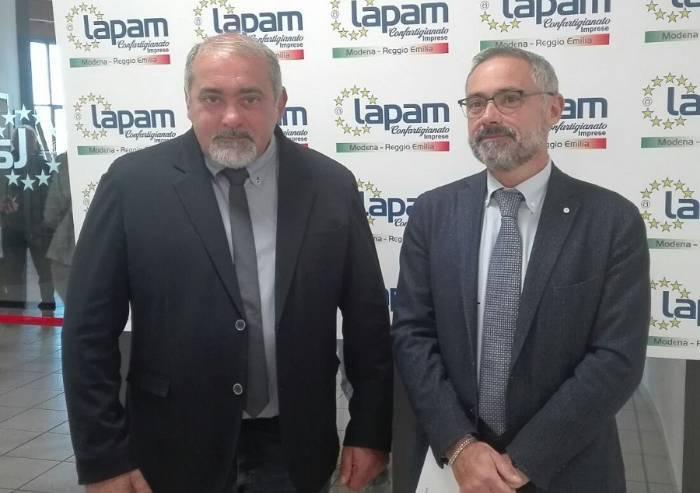 Lapam, l'impresa di Gilberto Luppi