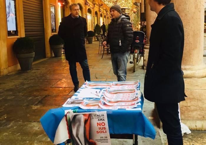 Noi con Salvini in piazza contro lo Ius soli