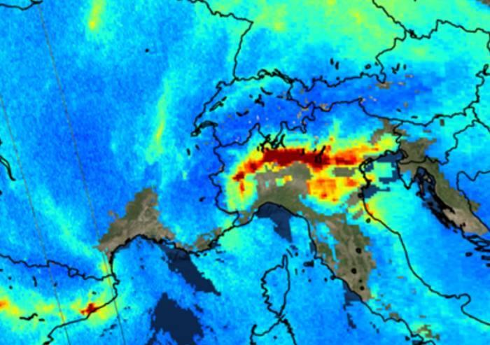 Inquinamento del pianeta, nuovo video: la Pianura Padana fa paura