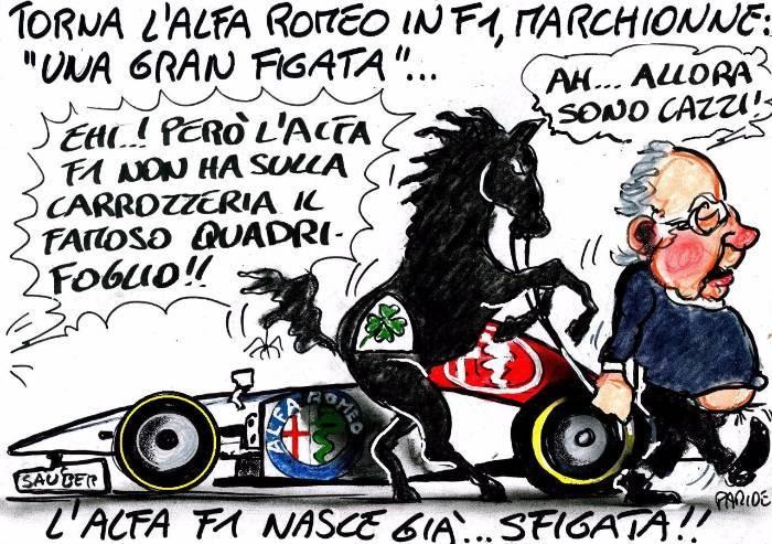 Formula 1 e la sfortuna targata Alfa