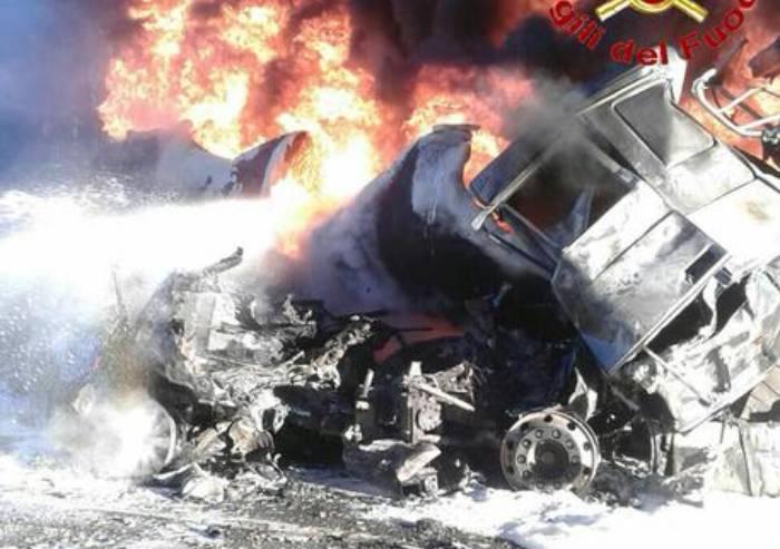 'A21, una tragica fatalità: ma il trasporto merci pericolose andrebbe controllato nella sua filiera'