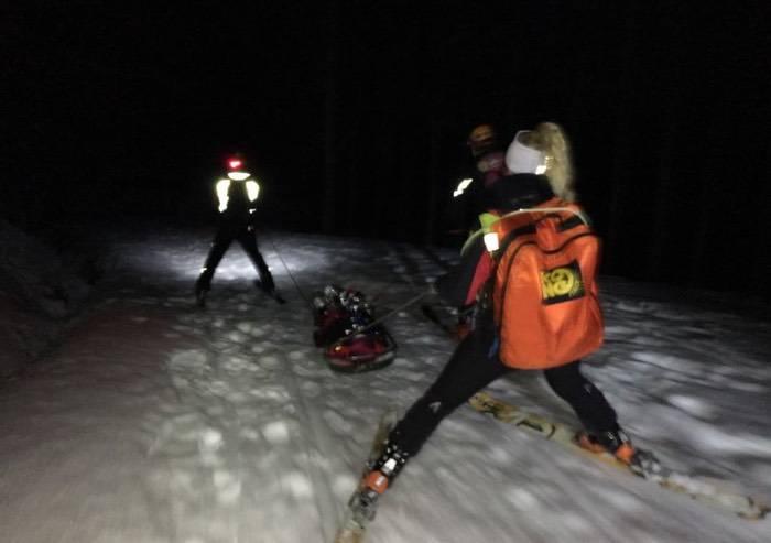 Paura per quattro escursionisti dispersi sul Corno alle Scale