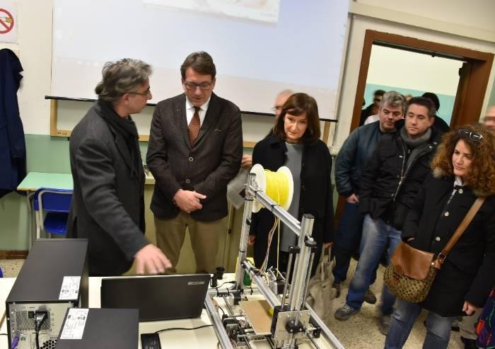 Ipsia Corni, inaugurati i nuovi laboratori