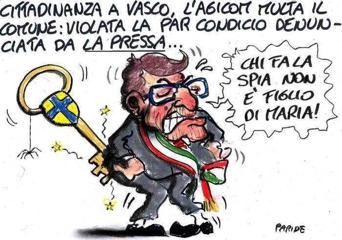 Vasco day, multa al Comune su denuncia de La Pressa