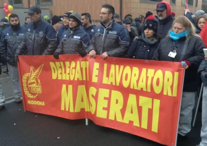 Maserati Modena, nuova cassa integrazione e poche certezze