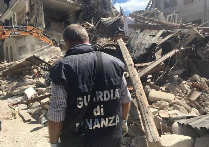 Ricostruzione post sisma, frodi e contributi percepiti indebitamente
